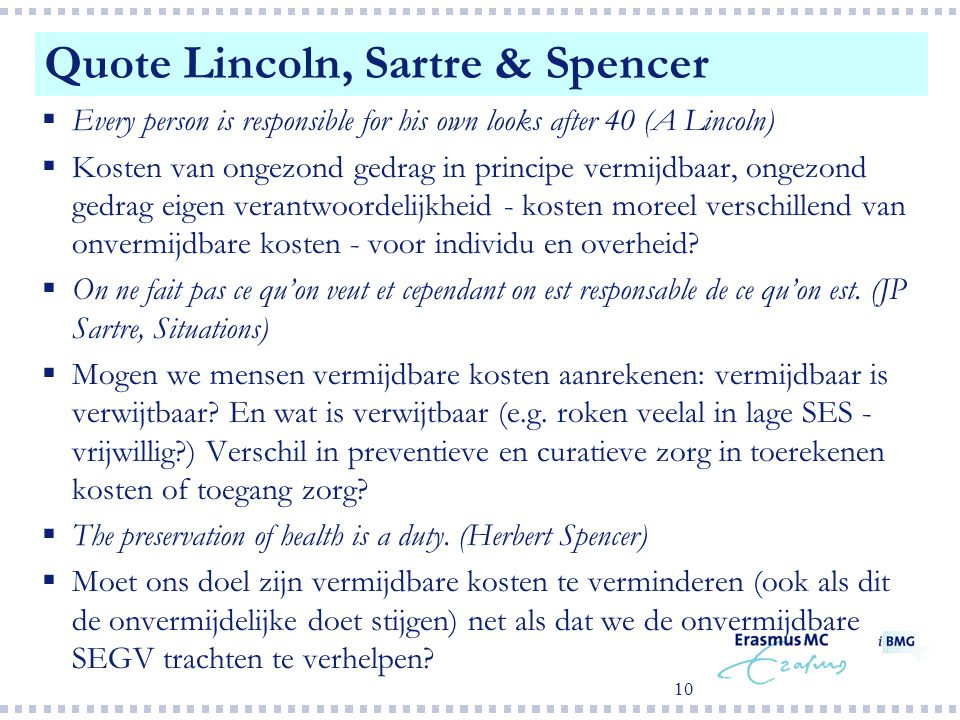 Quote Lincoln, Sartre & Spencer