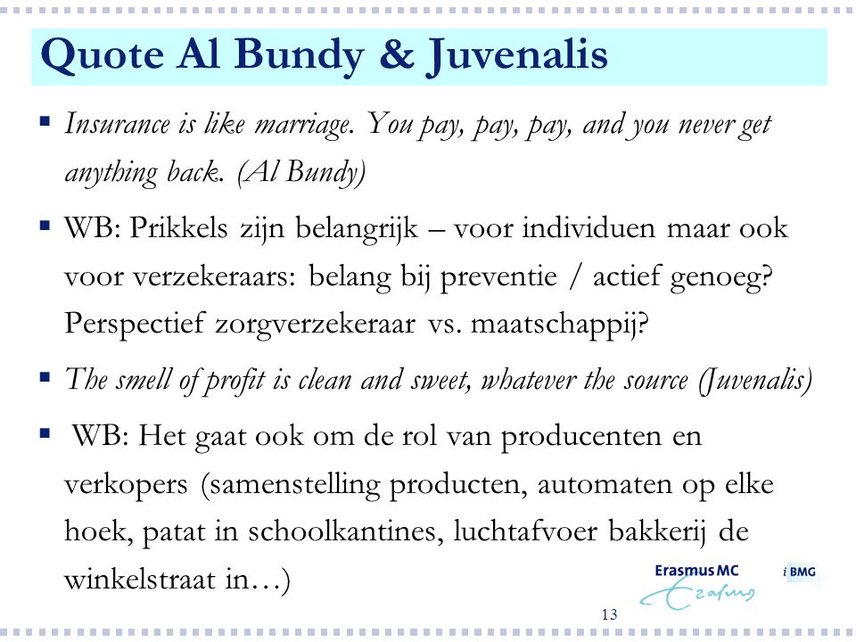 Quote Al Bundy & Juvenalis