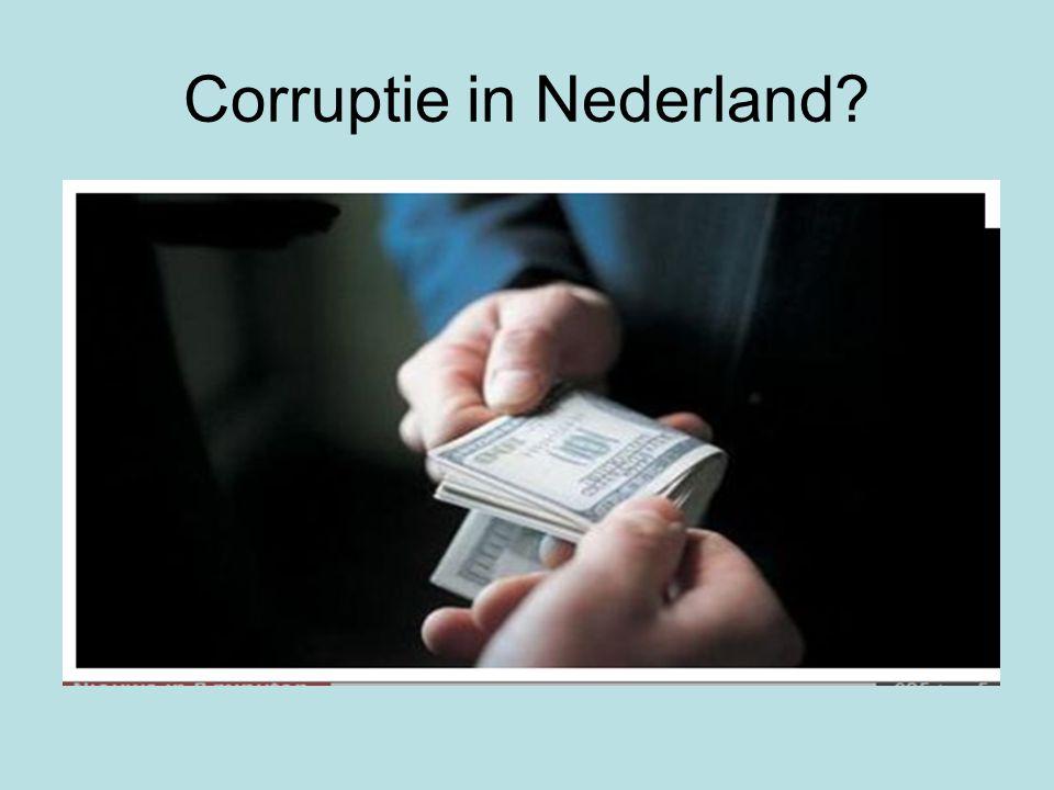 Corruptie in Nederland