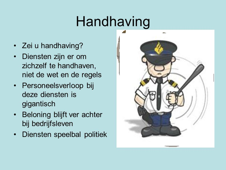 Handhaving Zei u handhaving
