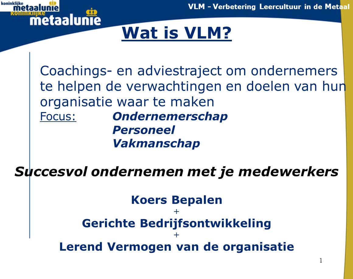 Wat is VLM Succesvol ondernemen met je medewerkers