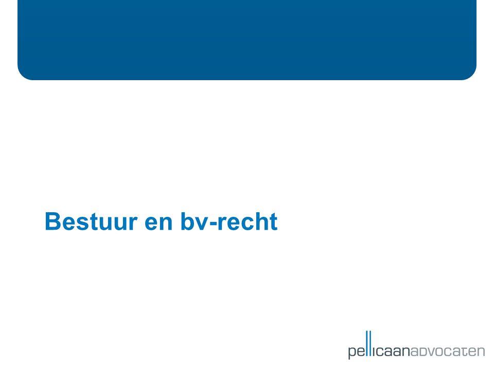 Bestuur en bv-recht