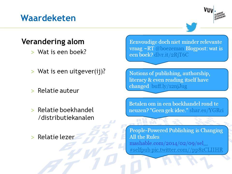 Waardeketen Verandering alom Wat is een boek Wat is een uitgever(ij)