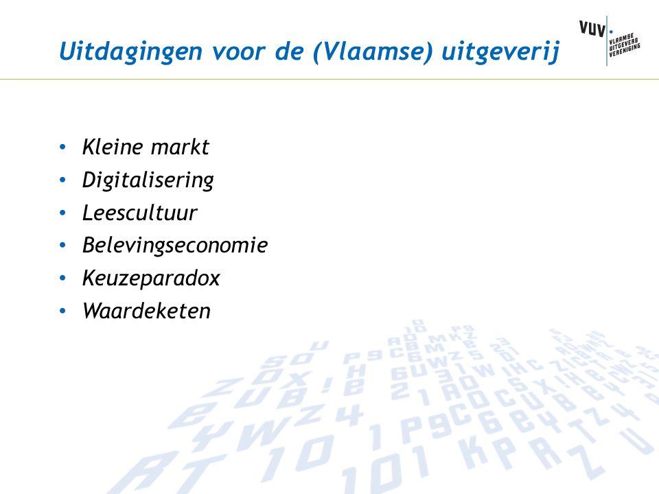 Uitdagingen voor de (Vlaamse) uitgeverij