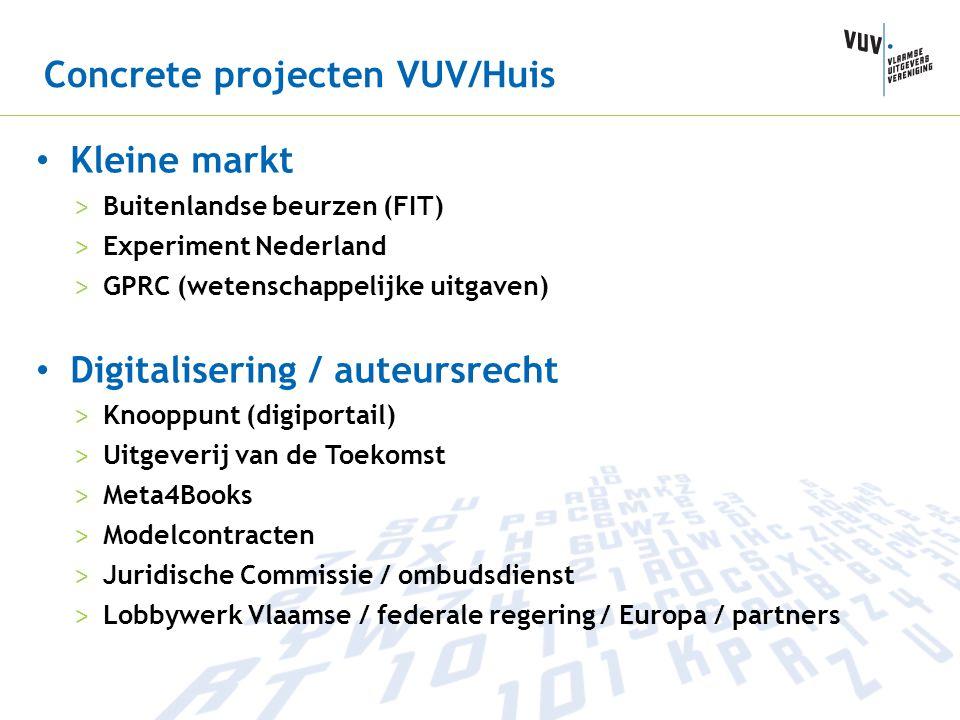 Concrete projecten VUV/Huis