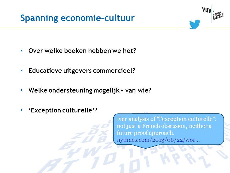 Spanning economie-cultuur