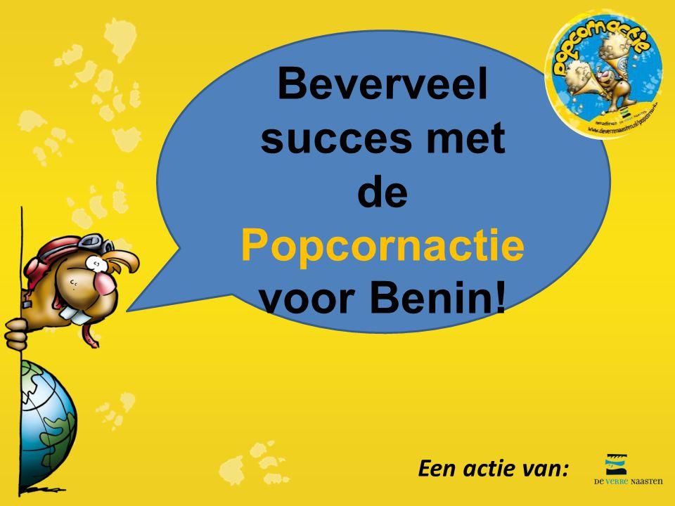 Beverveel succes met de Popcornactie voor Benin!