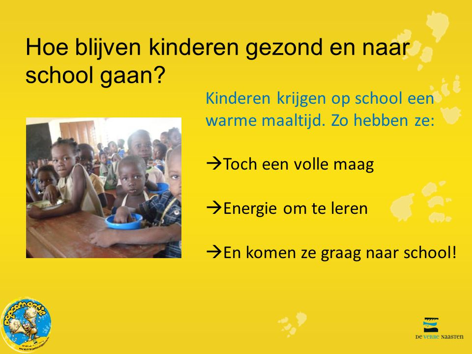 Hoe blijven kinderen gezond en naar school gaan