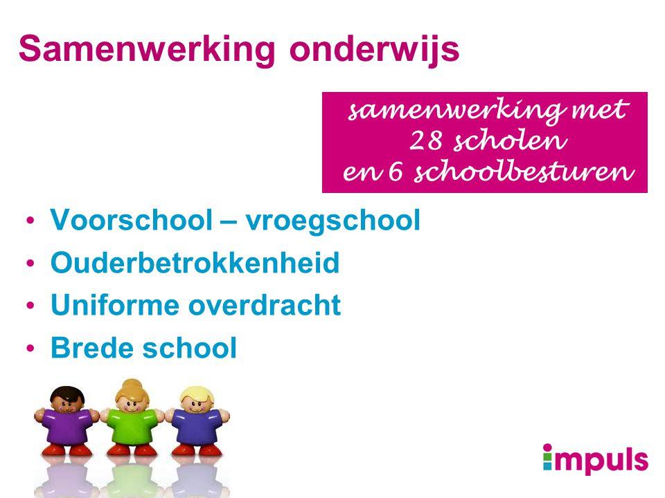 Samenwerking onderwijs