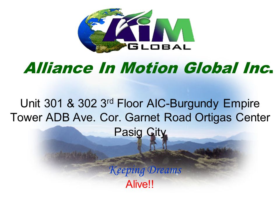 Alliance In Motion Global Inc