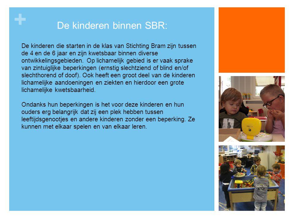 De kinderen binnen SBR: