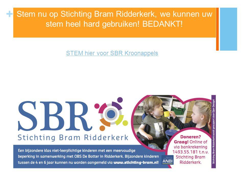 STEM hier voor SBR Kroonappels