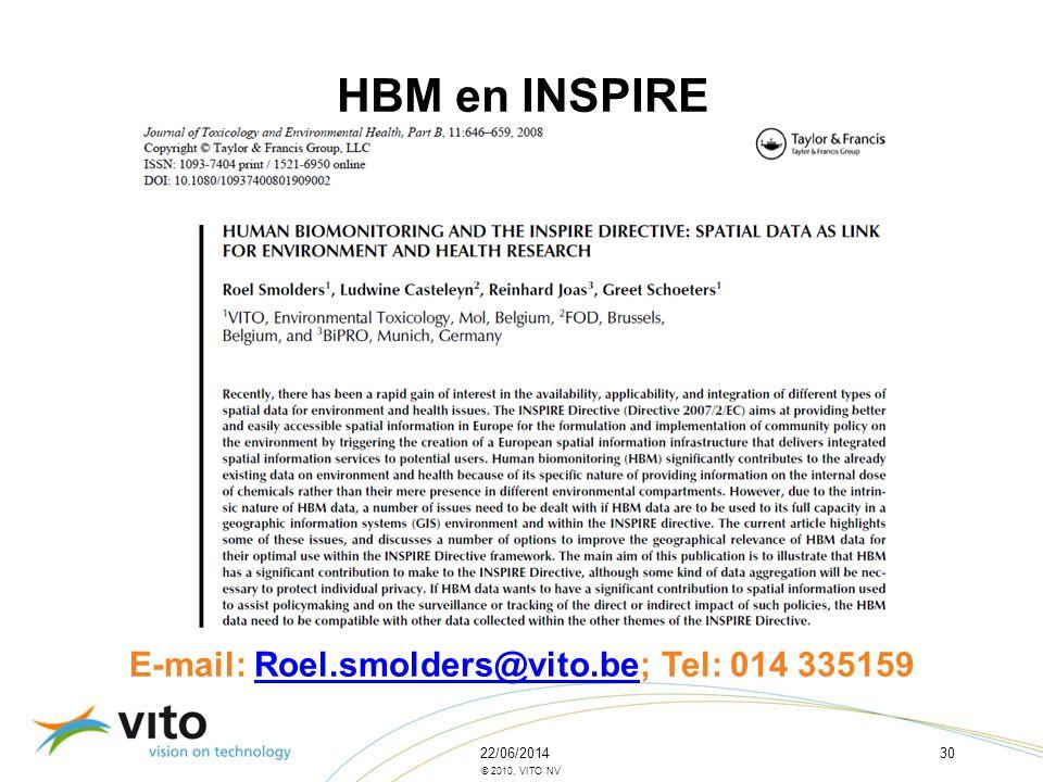 E-mail: Roel.smolders@vito.be; Tel: 014 335159