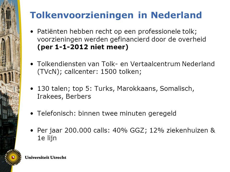 Tolkenvoorzieningen in Nederland