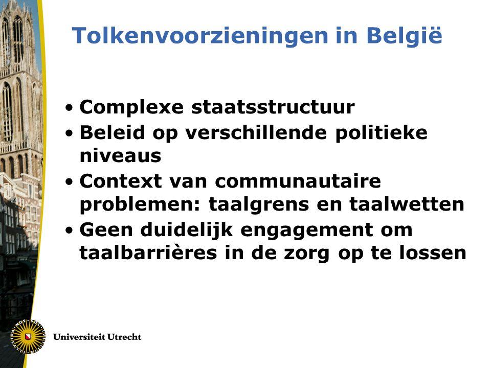 Tolkenvoorzieningen in België