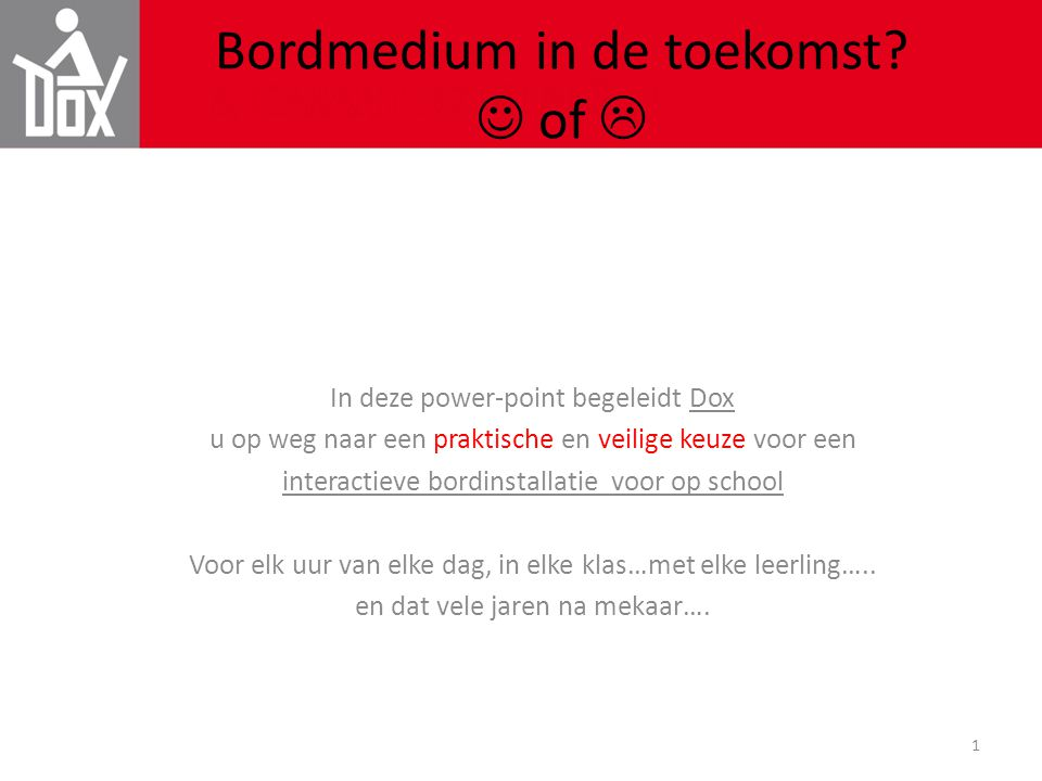 Bordmedium in de toekomst  of 