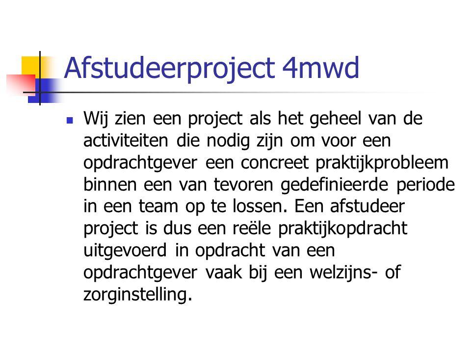 Afstudeerproject 4mwd