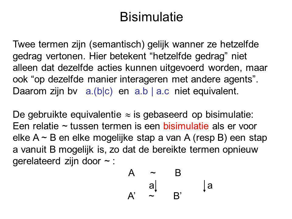 Bisimulatie