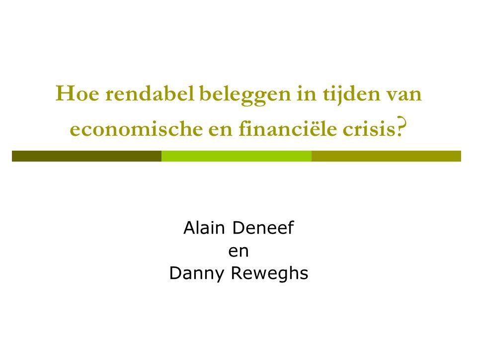 Hoe rendabel beleggen in tijden van economische en financiële crisis