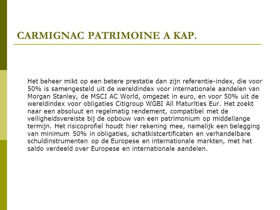 CARMIGNAC PATRIMOINE A KAP.