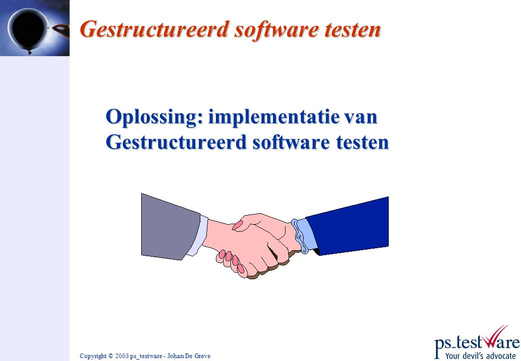 Gestructureerd software testen
