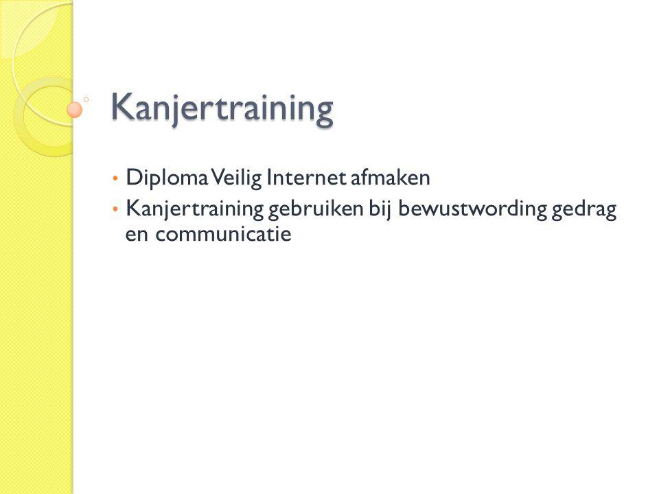 Kanjertraining Diploma Veilig Internet afmaken