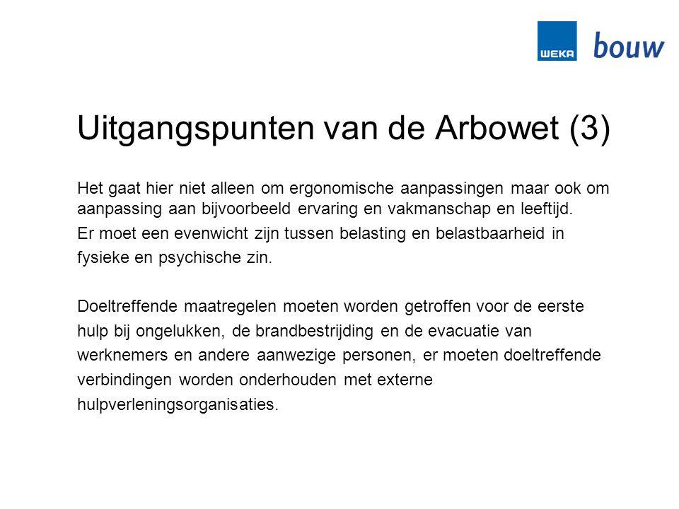 Uitgangspunten van de Arbowet (3)