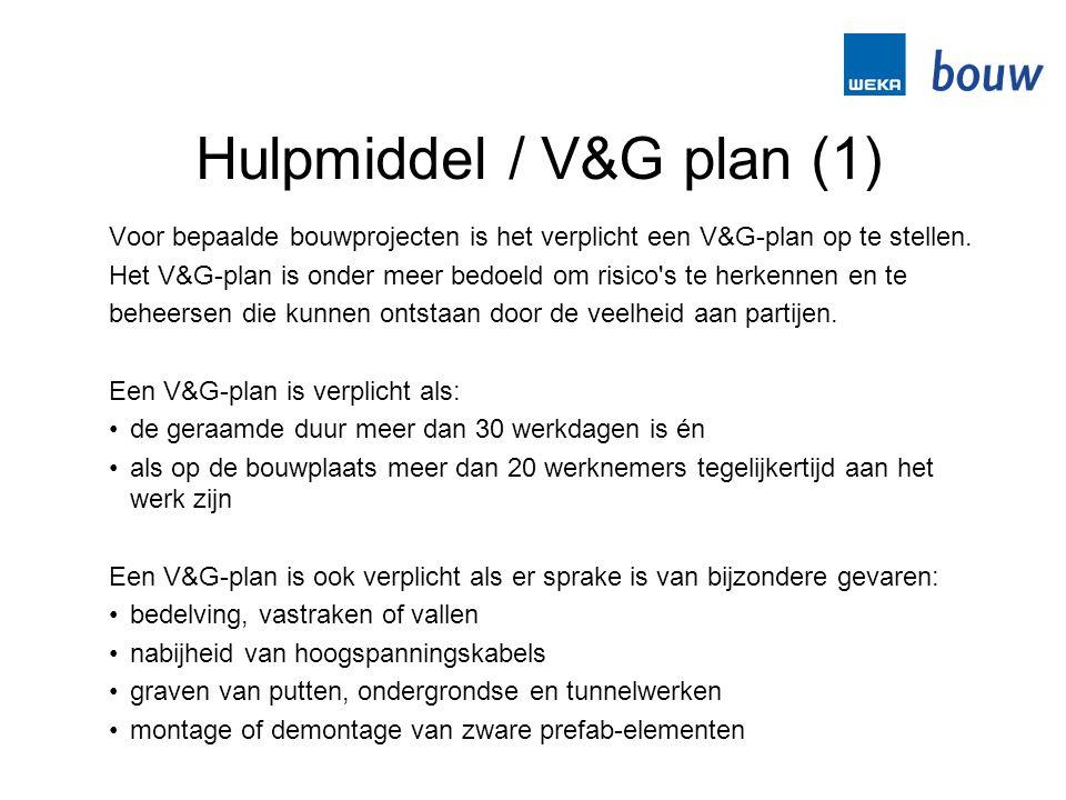 Hulpmiddel / V&G plan (1)