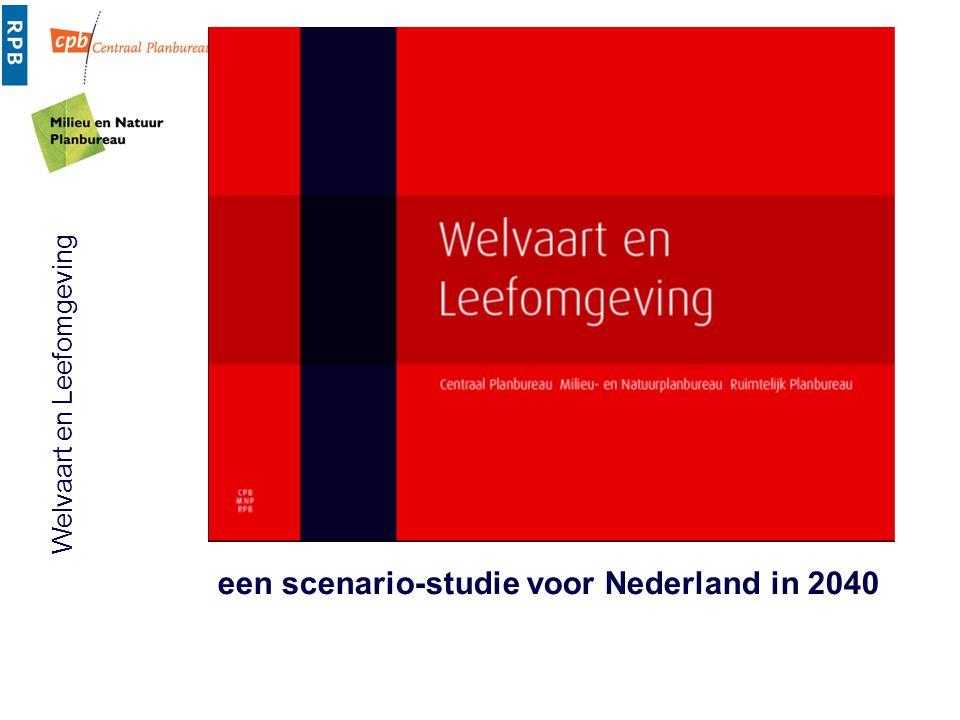 een scenario-studie voor Nederland in 2040