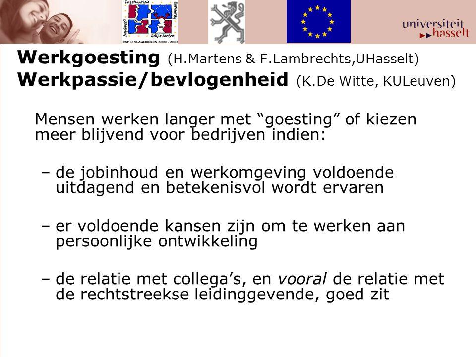 Werkgoesting (H.Martens & F.Lambrechts,UHasselt)