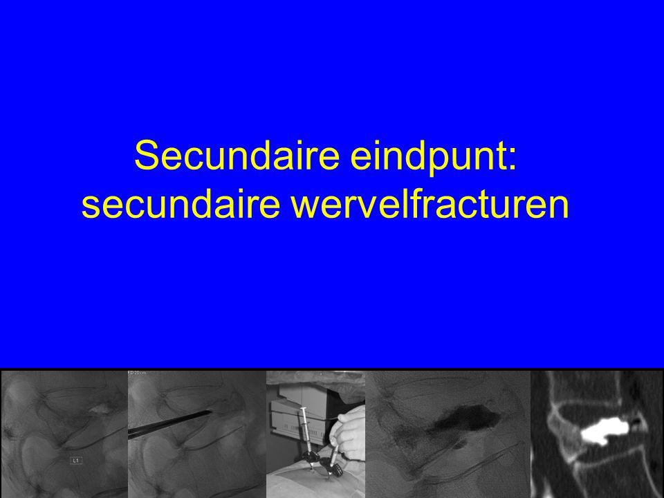Secundaire eindpunt: secundaire wervelfracturen