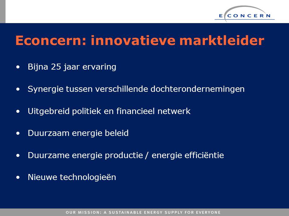 Econcern: innovatieve marktleider