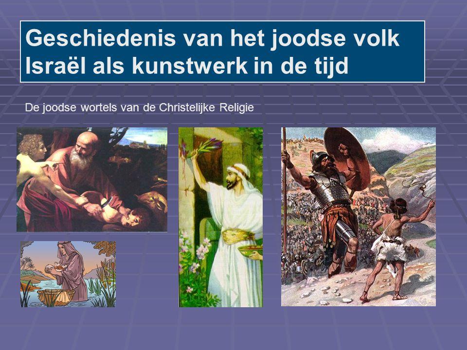 Geschiedenis van het joodse volk Israël als kunstwerk in de tijd
