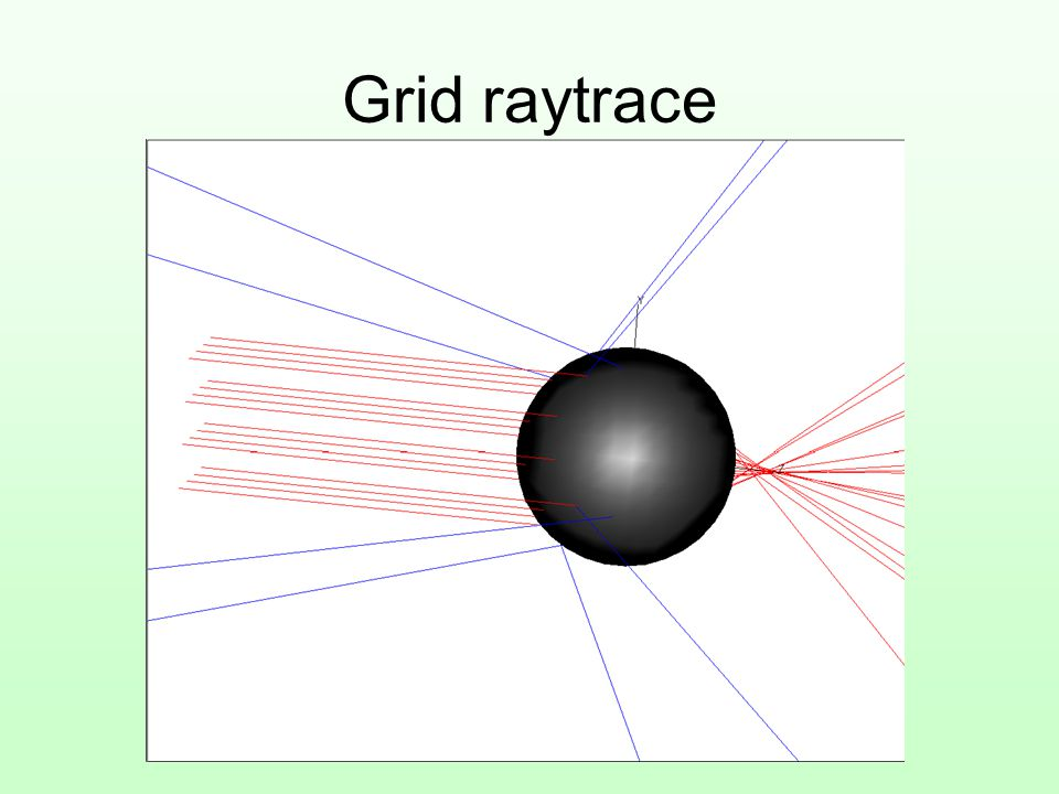 Grid raytrace