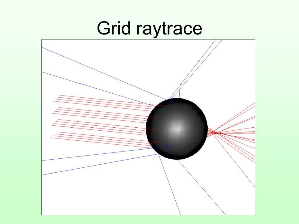 Grid raytrace