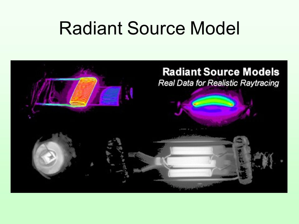 Radiant Source Model