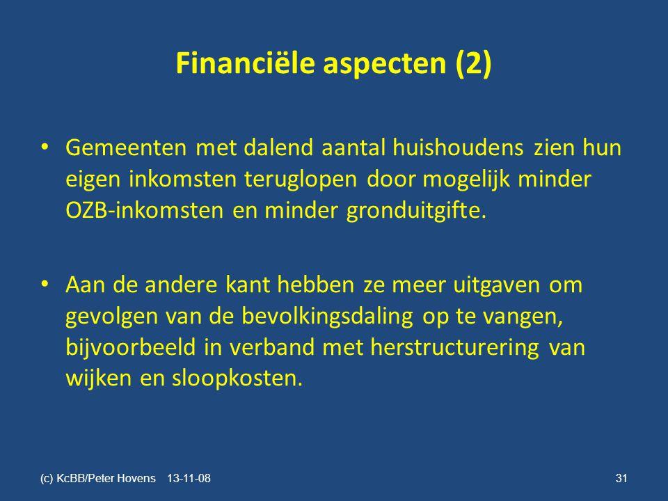 Financiële aspecten (2)