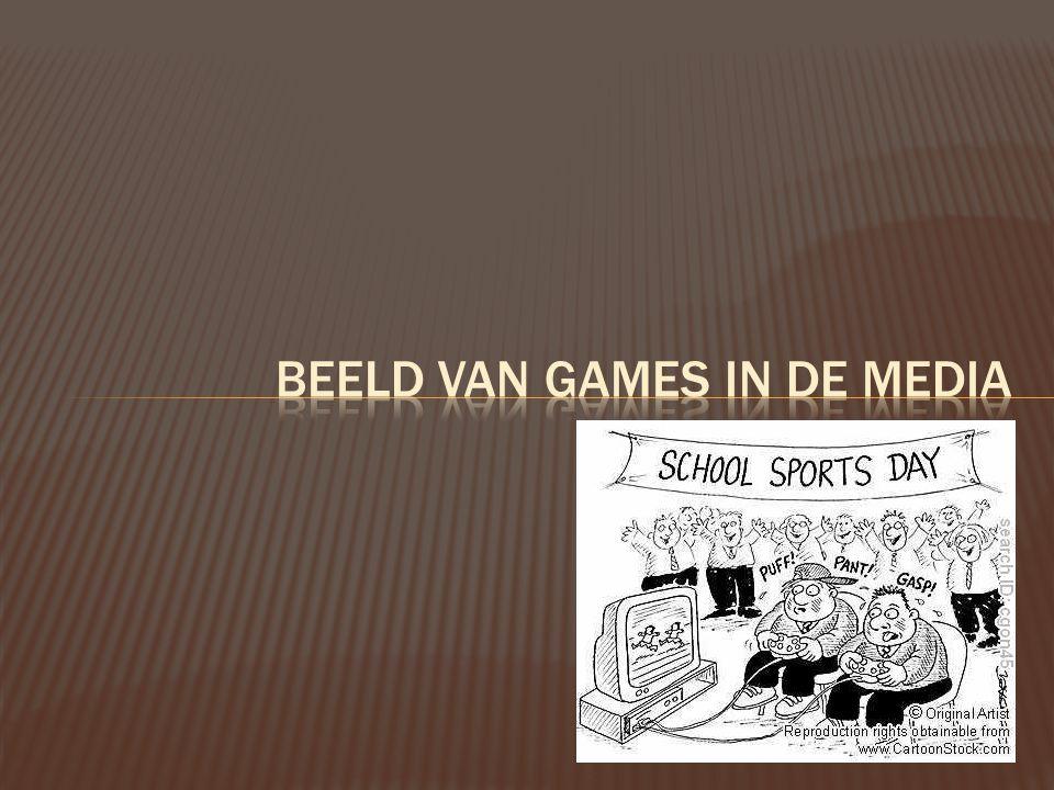 Beeld van games in de media