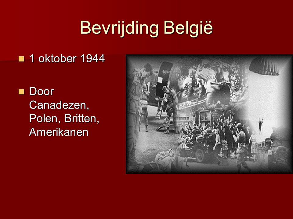 Bevrijding België 1 oktober 1944