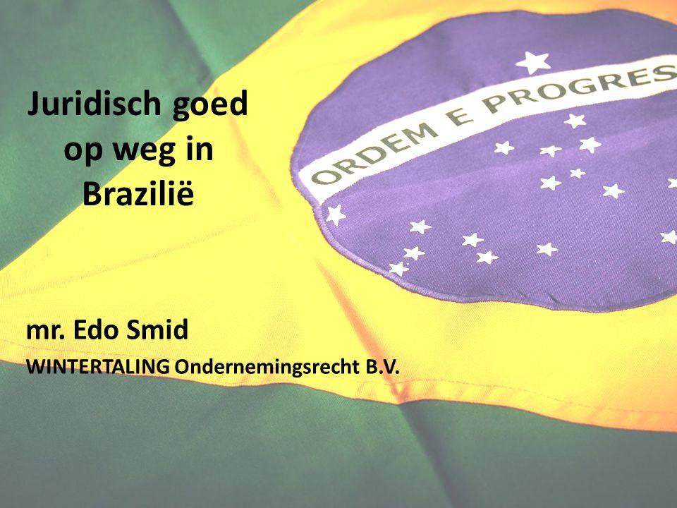 Juridisch goed op weg in Brazilië