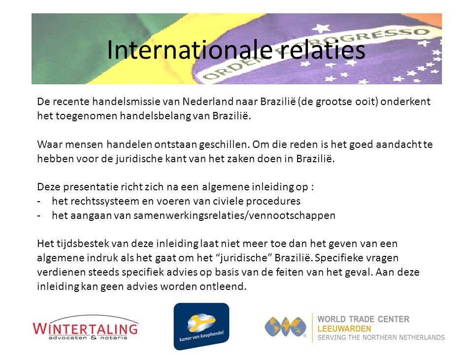Internationale relaties