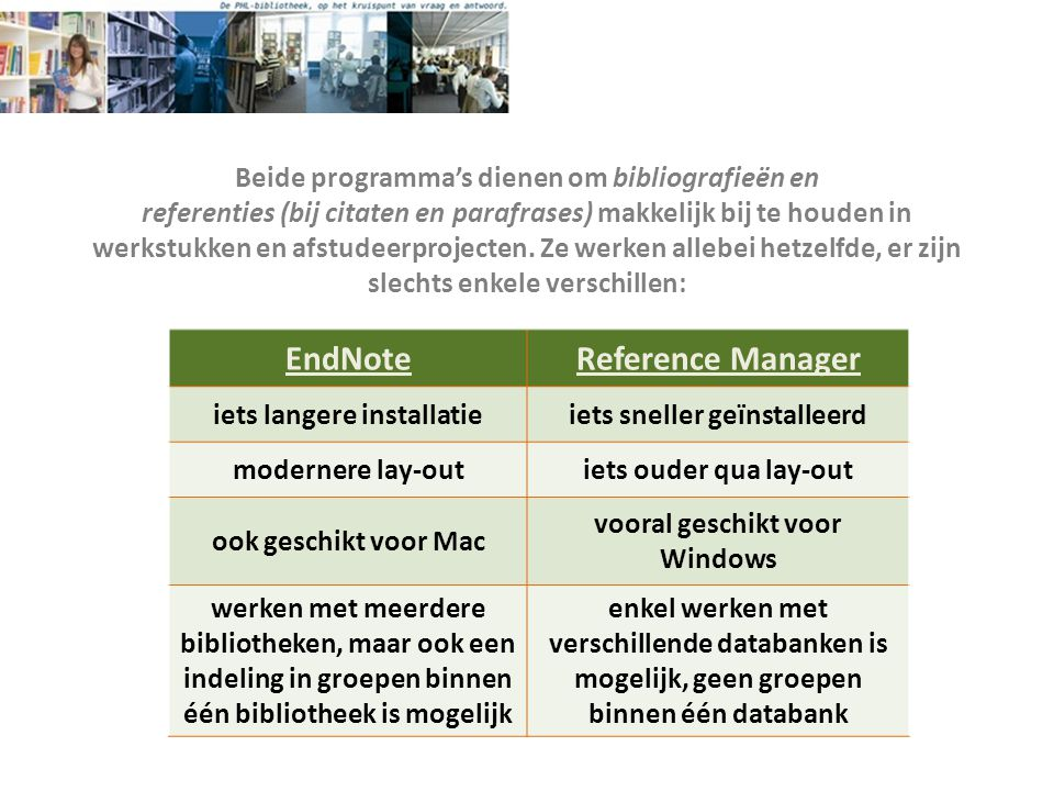 EndNote Reference Manager