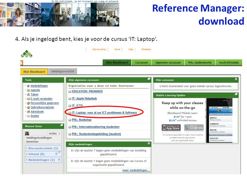 Reference Manager: download