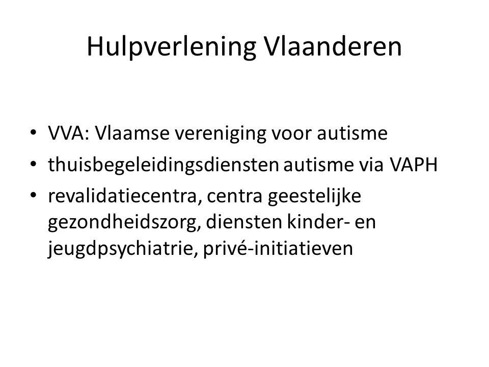 Hulpverlening Vlaanderen