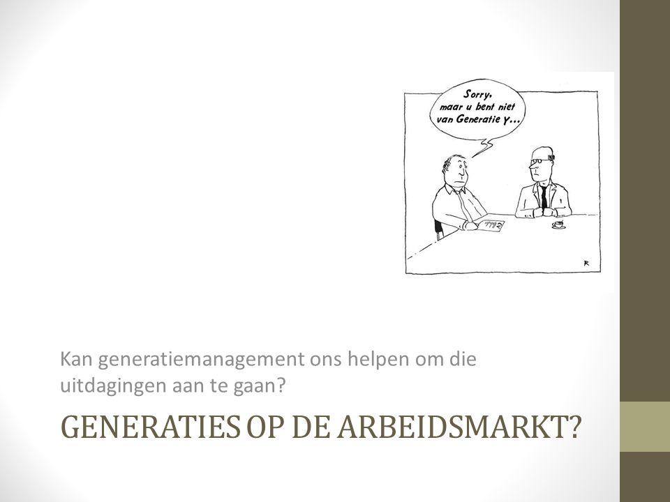 Generaties op de arbeidsmarkt