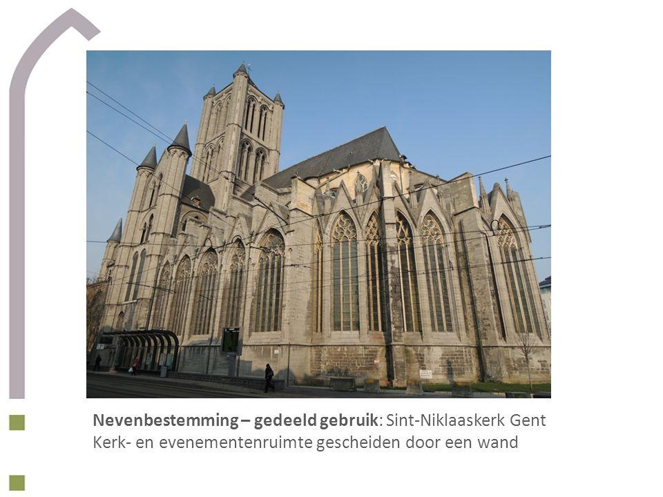 Nevenbestemming – gedeeld gebruik: Sint-Niklaaskerk Gent
