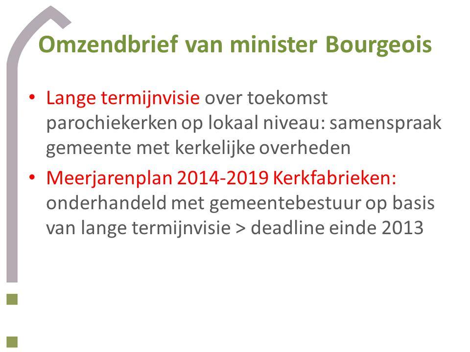 Omzendbrief van minister Bourgeois