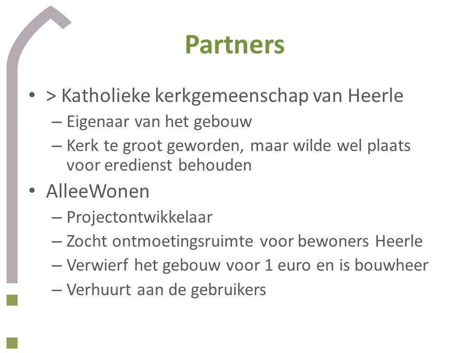 Partners > Katholieke kerkgemeenschap van Heerle AlleeWonen