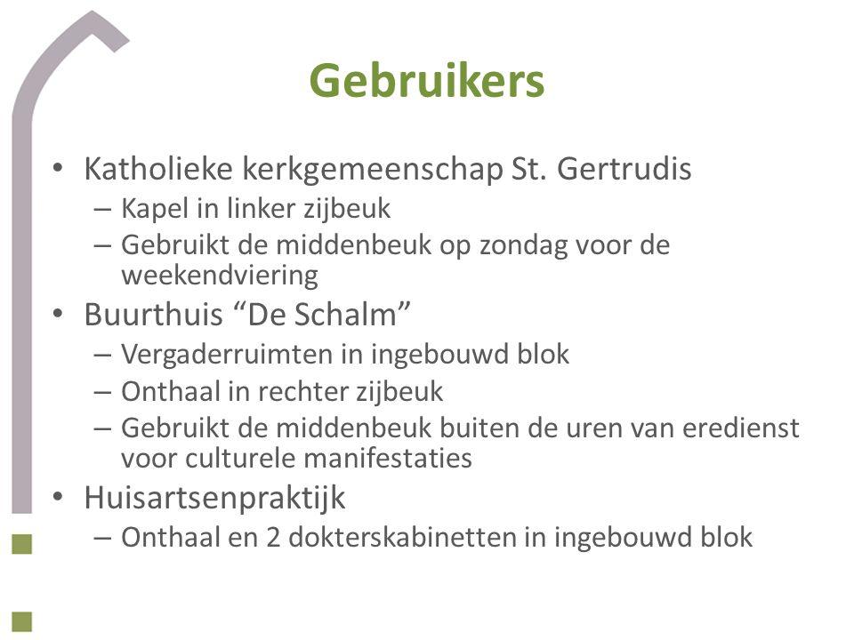 Gebruikers Katholieke kerkgemeenschap St. Gertrudis