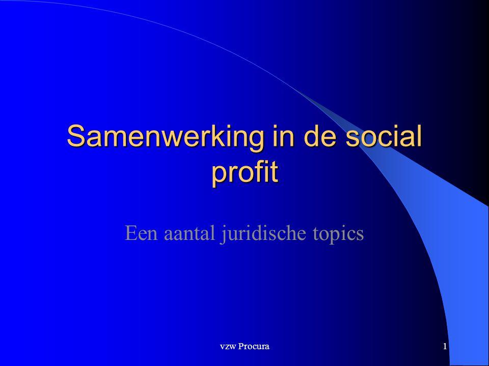 Samenwerking in de social profit